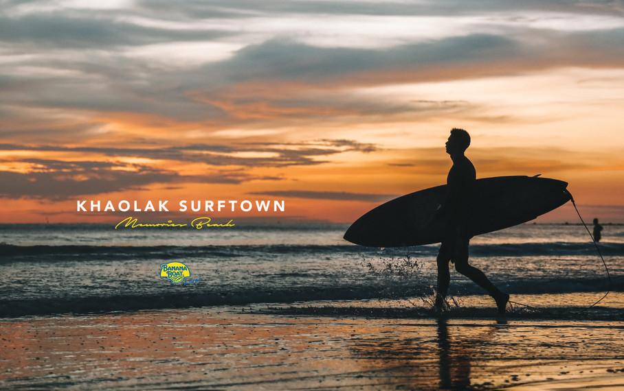 Memories Beach Khaolak Surftown