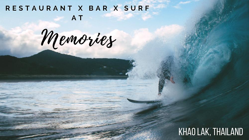 surf in Khao Lak, Thailand