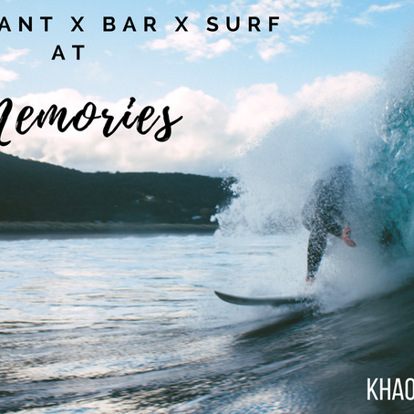 Let's Make Memories at Memories Beach Bar