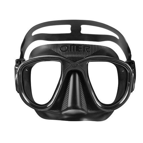 O.ME.R. Alien Freedive Mask (Black/Black)