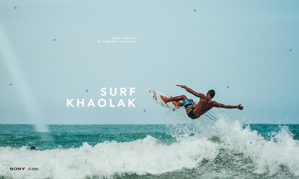 Surf-Thailand โต้คลื่นเขาหลัก