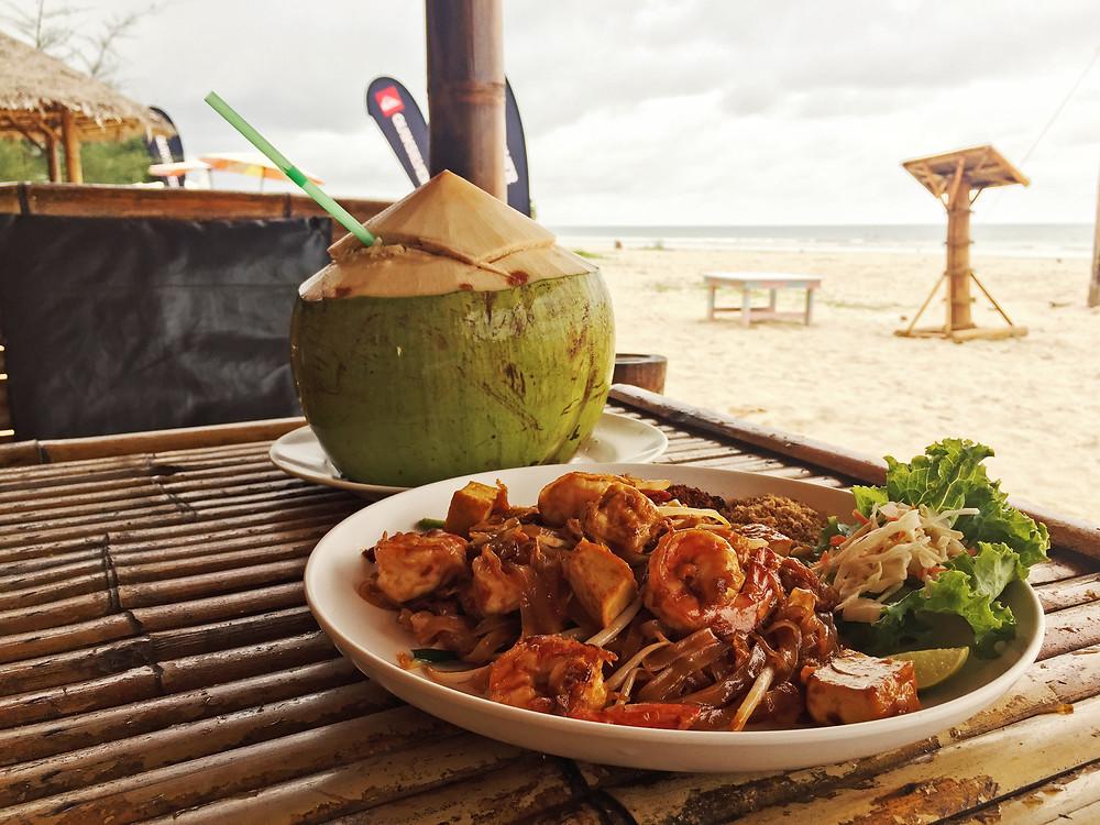 beach restaurant in khao lak