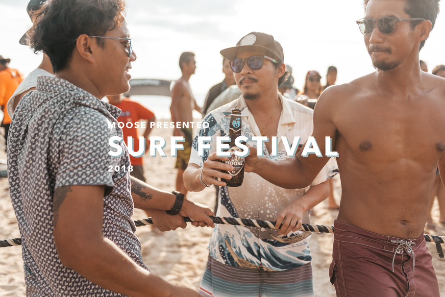 MOOSE PRESENTED SURF CONTEST&FESTIVAL