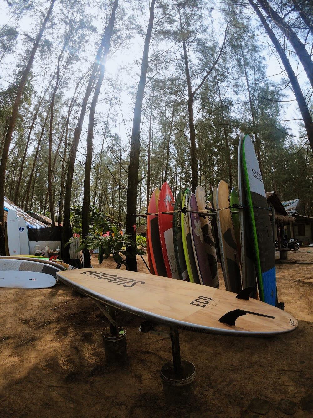 surfing in khao lak