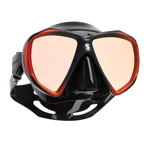 ScubaPro Spectra Dive Mask, Bonze with Mirrored lens