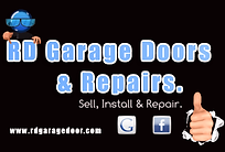 RD Garage Door Repair Company Logo