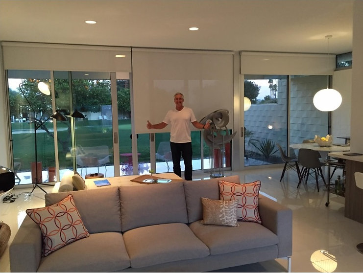 seven lakes palm springs roller shades