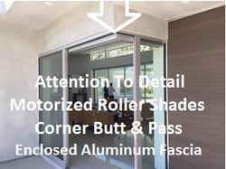 Corner butt and pass fascia