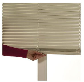Cord free Aluminum Blinds: Lifetime Blinds