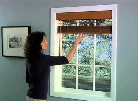Cordless Faux & Real Wood Blinds: Lifetime Blinds