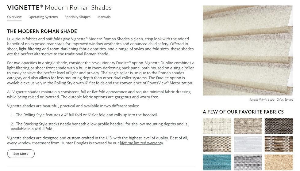 roman shades texture 1