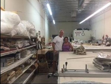 drapery workshop