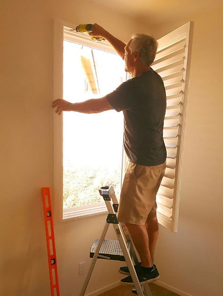 Lifetime Blinds Install Shutters
