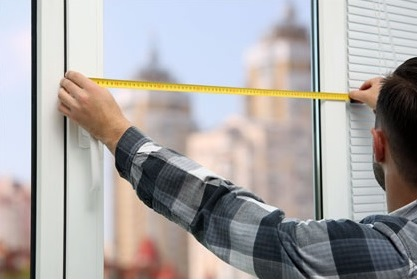 Measure Window for Blinds