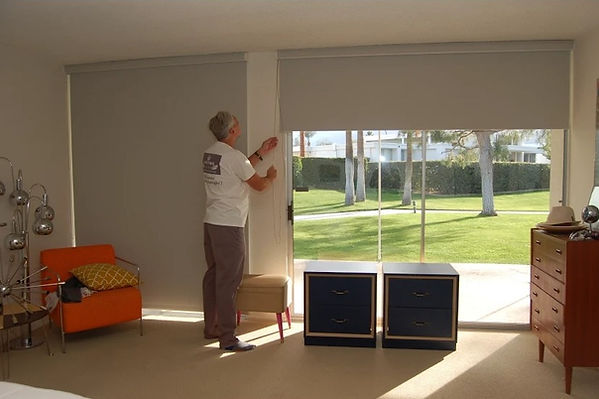 roller shades large