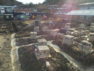 Godalming footings
