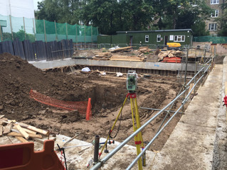 Belsize Park setting out
