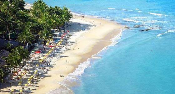 Barracas de praia .