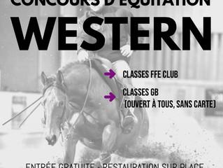 CONCOURS FFE CLUB ET PONEY CLUB ÉQUITATION WESTERN