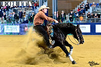GB Quarter, Champion NRHA Limited Open en selle sur Rooster nic