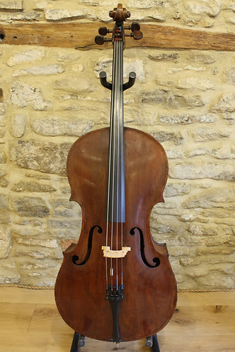 7/8 English Cello, circa early 1900's