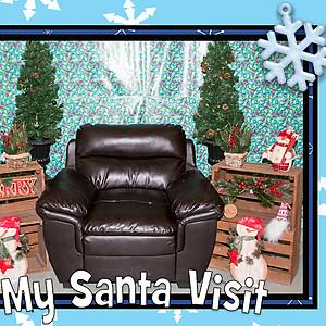 Santa at Freson Brothers