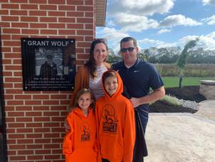 Grant Wolf's Legacy Preserved at Skidmore Sales Mini-Golf Club