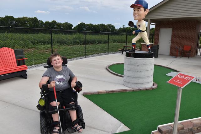 Mini Golfer with Joe Bobblehead.jpg