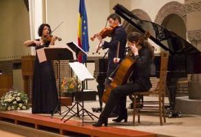 Pe urmele lui George Enescu, Ziua Națională a României sărbătorită la Haga