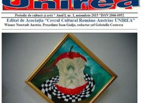 """Revista """"Unirea"""" din Viena"""