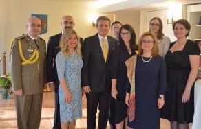 Ziua Naţională a României sărbătorită la Misiunea României la ONU, New York
