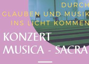 """Românca Mihaela Ungureanu - Binder în concert de Muzică Sacră la biserica evanghelică """"Markuskirche"""""""