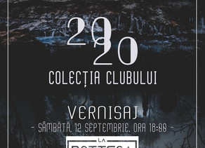 Asociația Foto Club Arad și La Bottega vă invită sâmbătă, 12 septembrie 2020, ora 18.