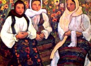 Costumul popular tradiţional românesc în viziunea pictorului Camil Ressu