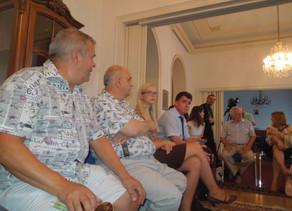 Întâlnire de lucru la Ambasada României din Viena