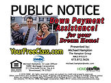 Public Notice Down Payment Assistance.jp