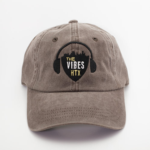 """Vibes Logo"" Dad Hat Style"