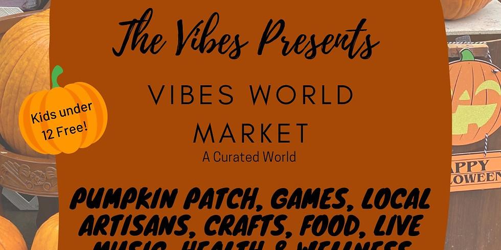 VIBES WORLD MARKET   PUMPKIN PATCH