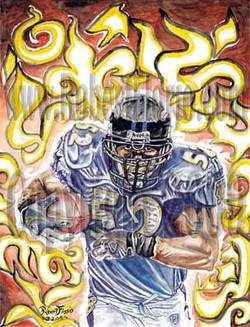 Ray Lewis Portrait