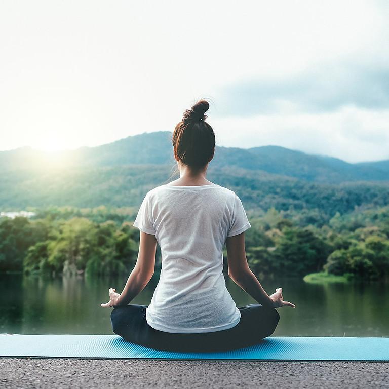 Outdoor Yoga at Dewitt Park