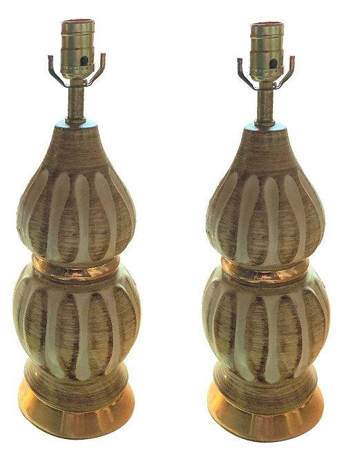 Vintage 1960's Original Lamps (PAIR)