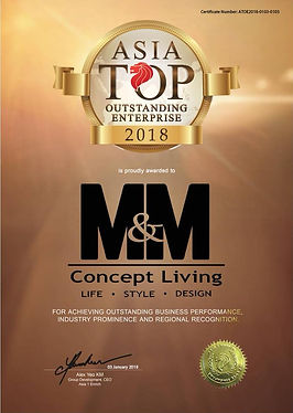 Mix and Match Concept Living | Asia Top Outstanding Enterprise Award 2018