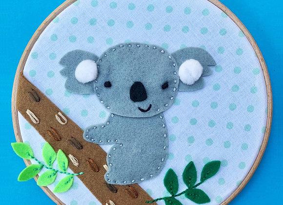 Sydney the koala hoop kit