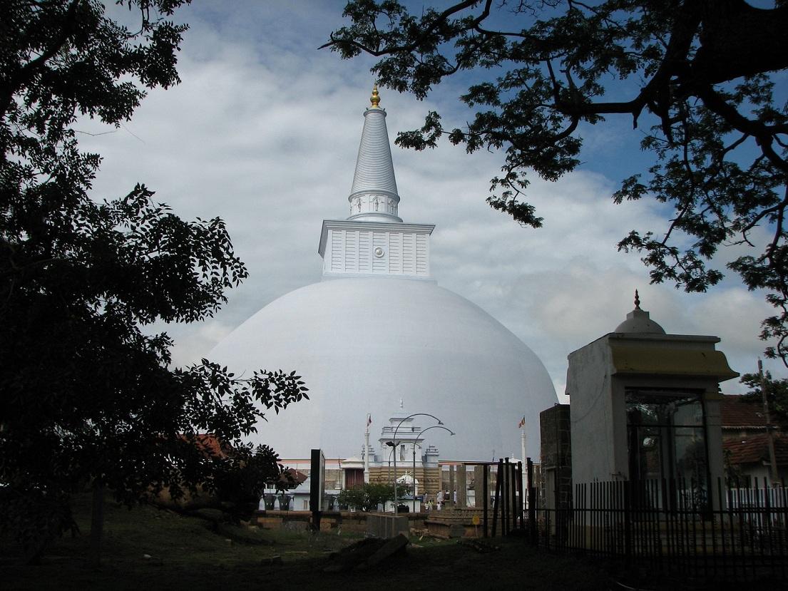 Руванвелисэа Ступа - г. Анурадхапура