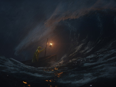 Stormy Night At Sea
