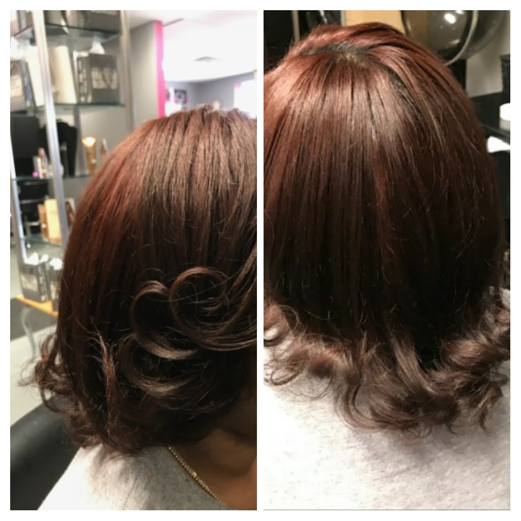 Brazilian Blowout & Tint