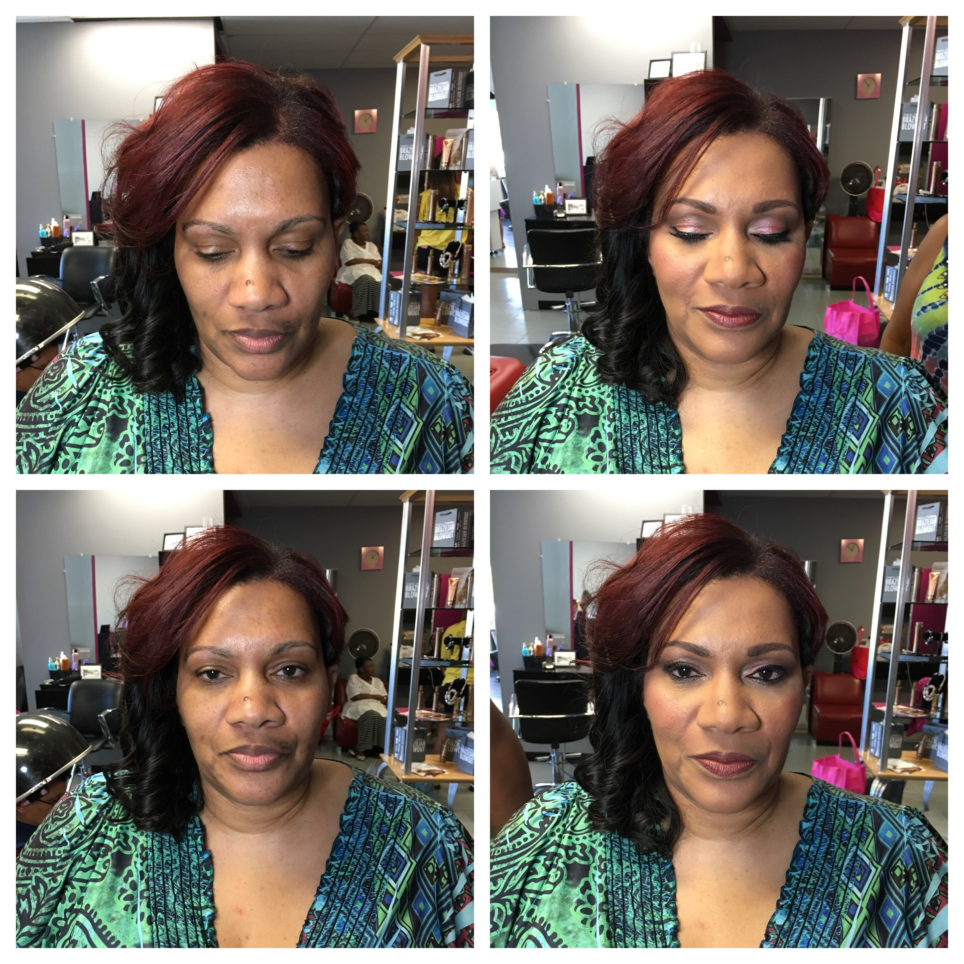 makeup done by Suna/hair done by Deanna
