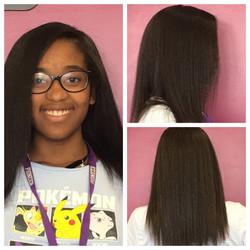 hair done by Deanna