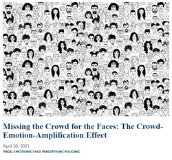 Missing the Crowd for the Faces: The Crowd-Emotion-Amplification Effect