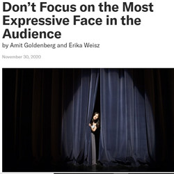 Don't Focus on the Most Expressive Face in the Audience